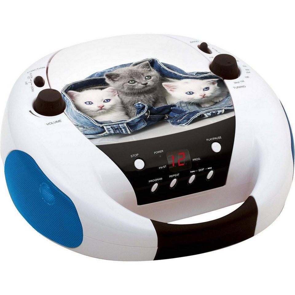 BigBen CD-Player mit Radio CD52 Cats 2 kaufen