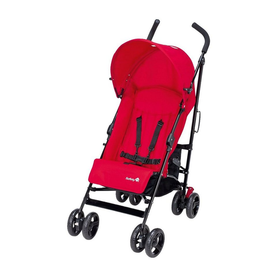 Safety 1st Buggy Slim inkl. Sonnenverdeck, plain red, 2017 in rot