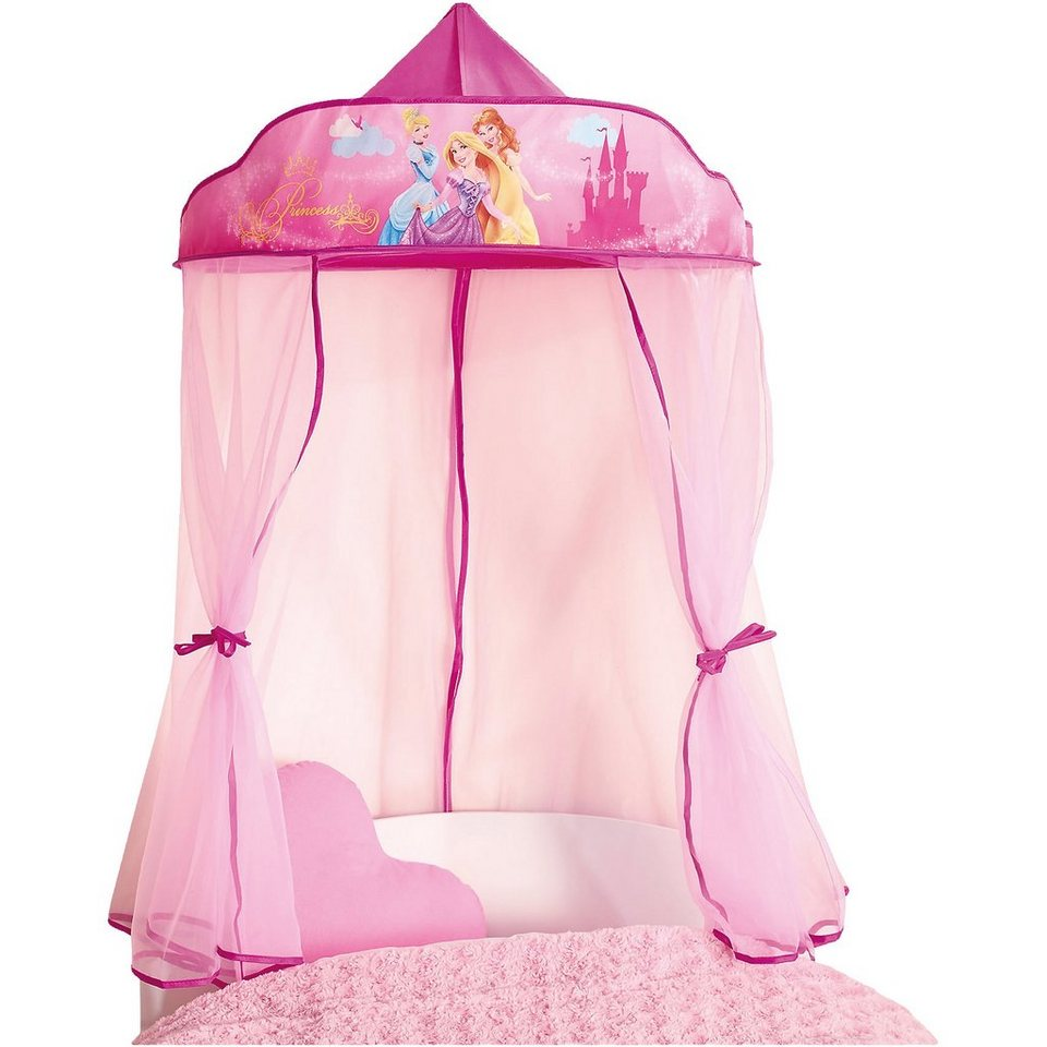 WORLDS APART Betthimmel, Disney Princess in pink