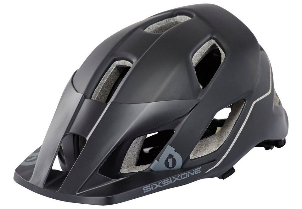 SixSixOne Fahrradhelm »Evo AM Helmet« in schwarz