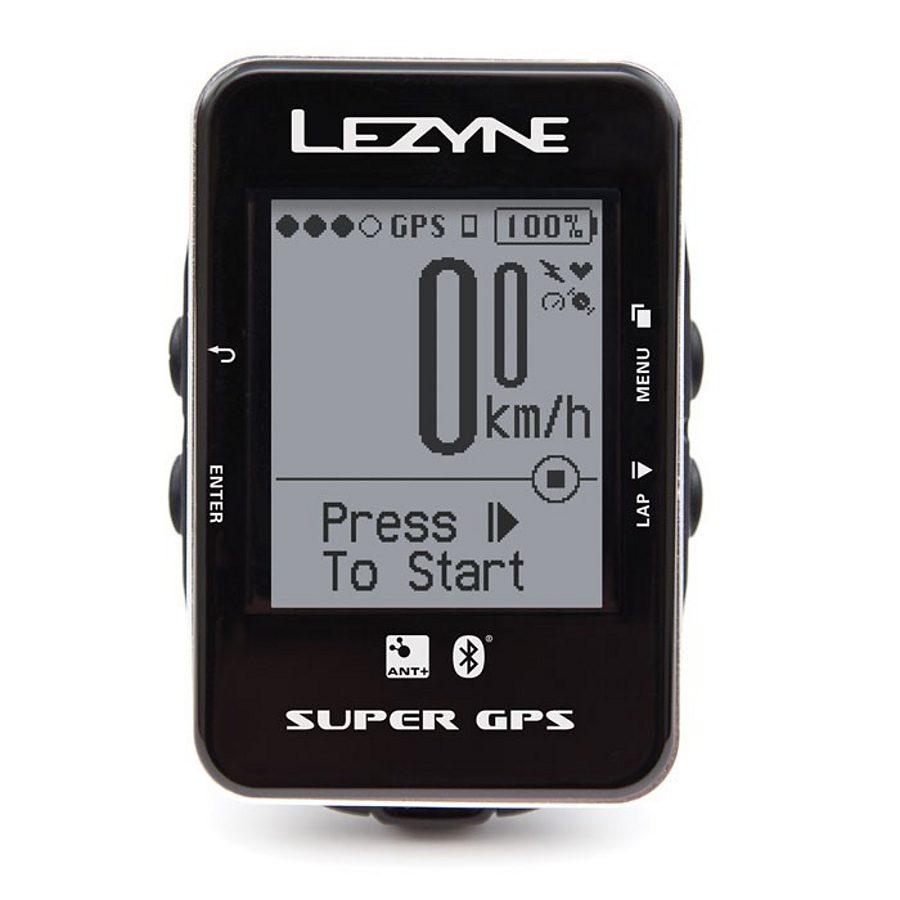 Lezyne Fahrradcomputer »Super GPS Fahrradcomputer«