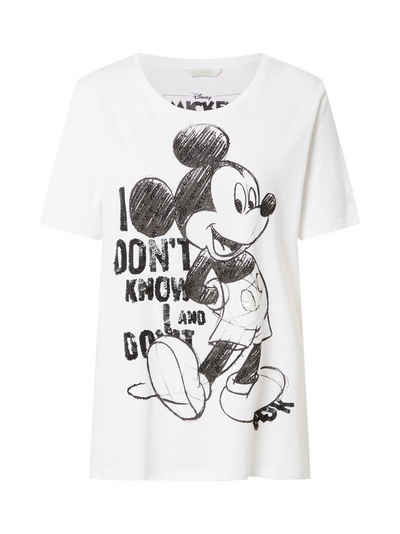 Frogbox T-Shirt »Mickey I Dont Know« (1-tlg)