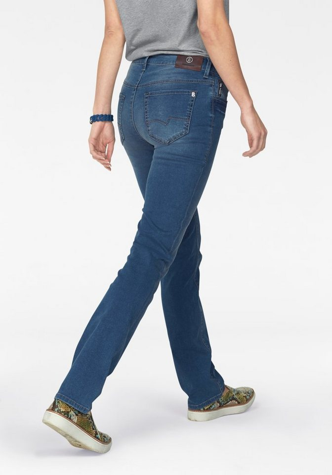 Bogner Jeans Gerade Jeans »Supershape Jeans« in blau