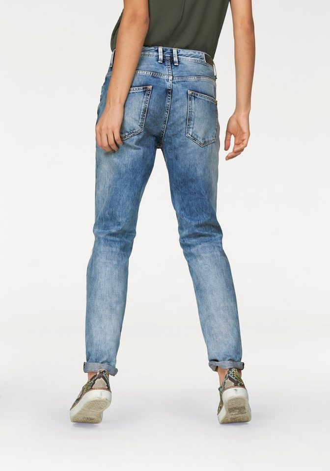 Pepe Jeans Destroyed-Jeans »Vagabond« mit destroyed Effekten in blue-stone-destroyed-Effekte