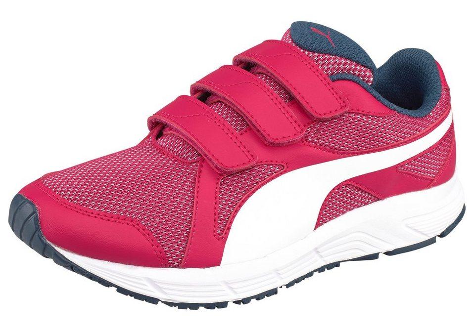 PUMA Axis V4 Mesh Laufschuh in Pink-Weiß