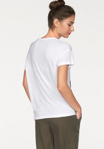 Pepe Jeans T-Shirt Naomi, mit Paillettenfrontmotiv