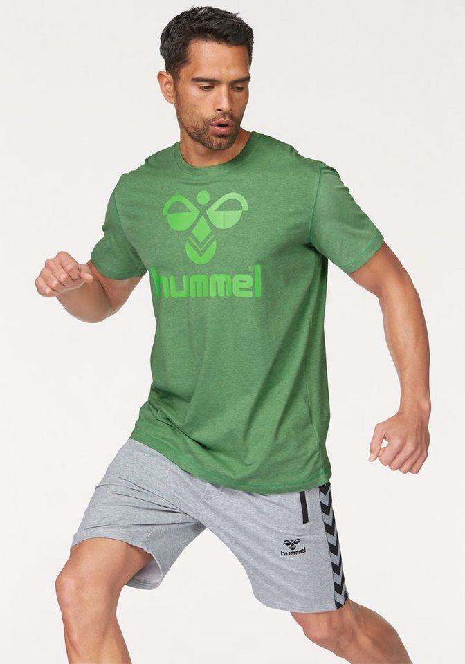 Hummel BEE COTTON TEE T-Shirt in Grün