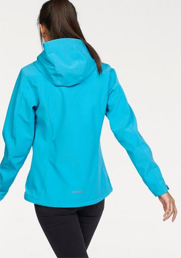 Icepeak Softshell Jacket Pippa, Water From Wind- & Uppermaterial