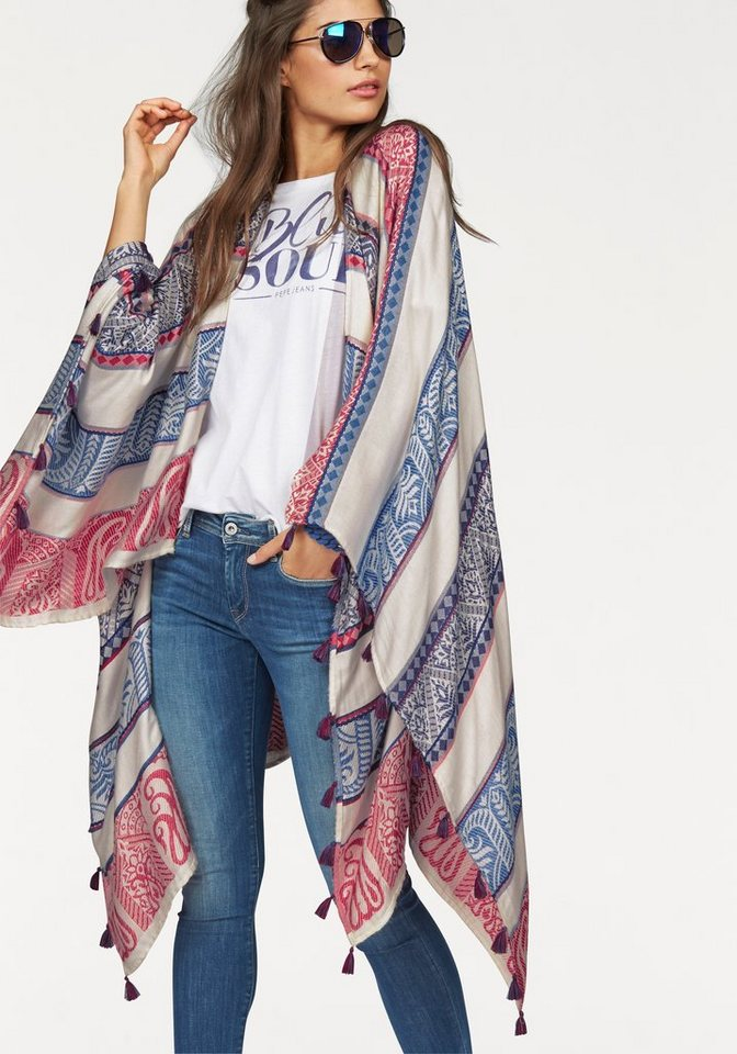 Pepe Jeans Poncho in multi