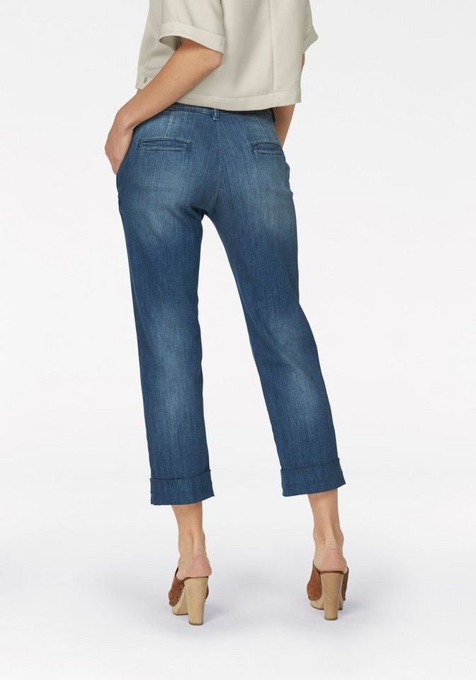 Rich & Royal Bequeme Jeans in blue-used