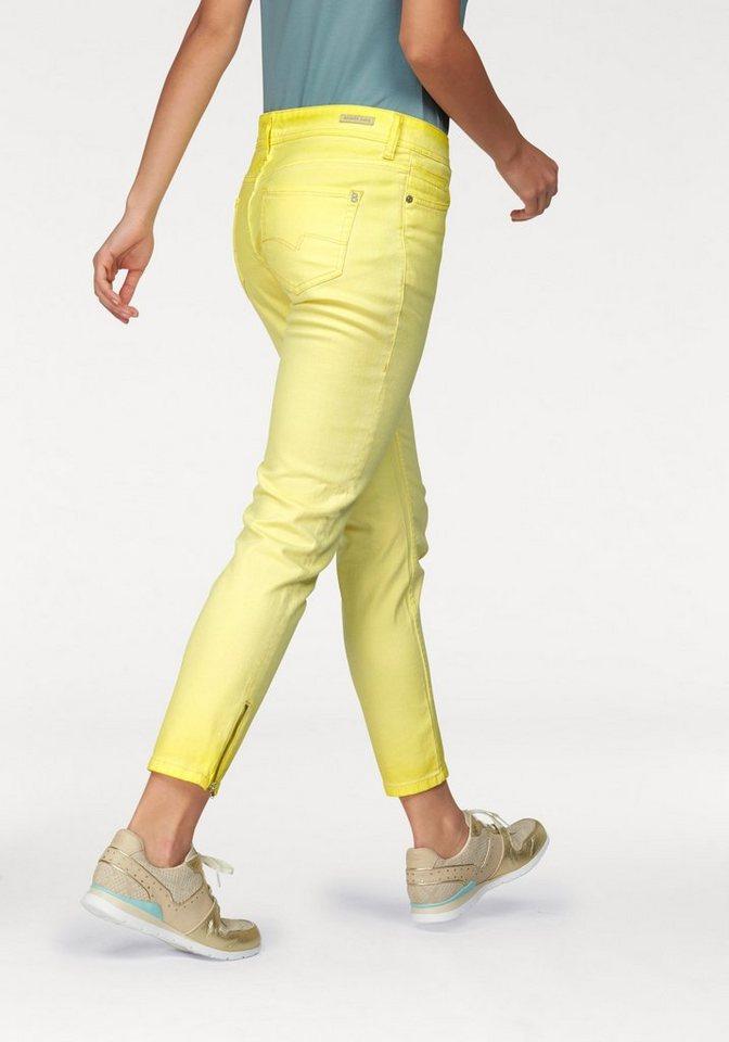 Bogner Jeans 7/8-Jeans in hellgelb