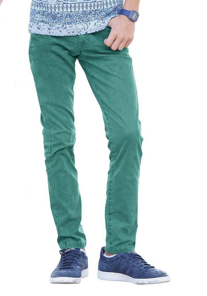 s.Oliver RED LABEL Junior Stretch-Hose in grün