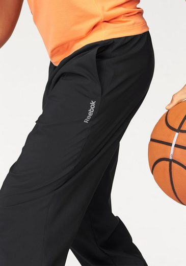 Reebok Sporthose ELEMENTS WOVEN UNLINED OPEN HEM PANT