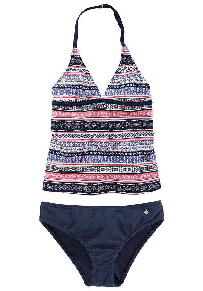s oliver red label beachwear tankini im frechen streifen look online kaufen otto. Black Bedroom Furniture Sets. Home Design Ideas