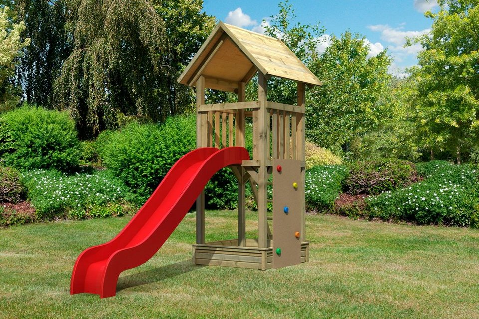Set: Spielturm »Pfiffikus« mit Satteldach