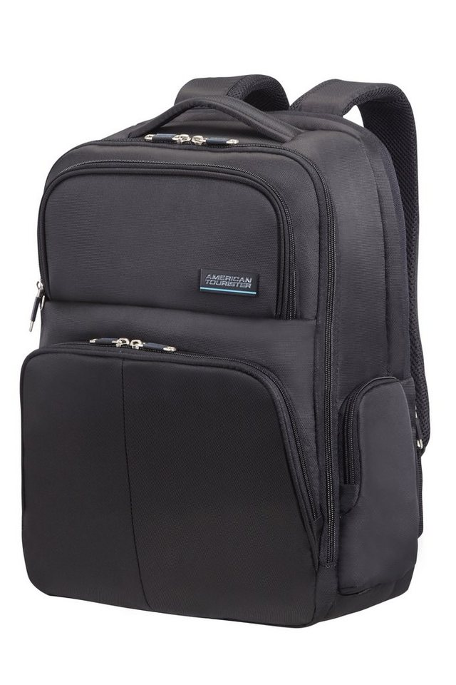 American Tourister Laptop und Tablet Rucksack, »ATLANTA HEIGHTS LAPTOP BACKPACK« in black