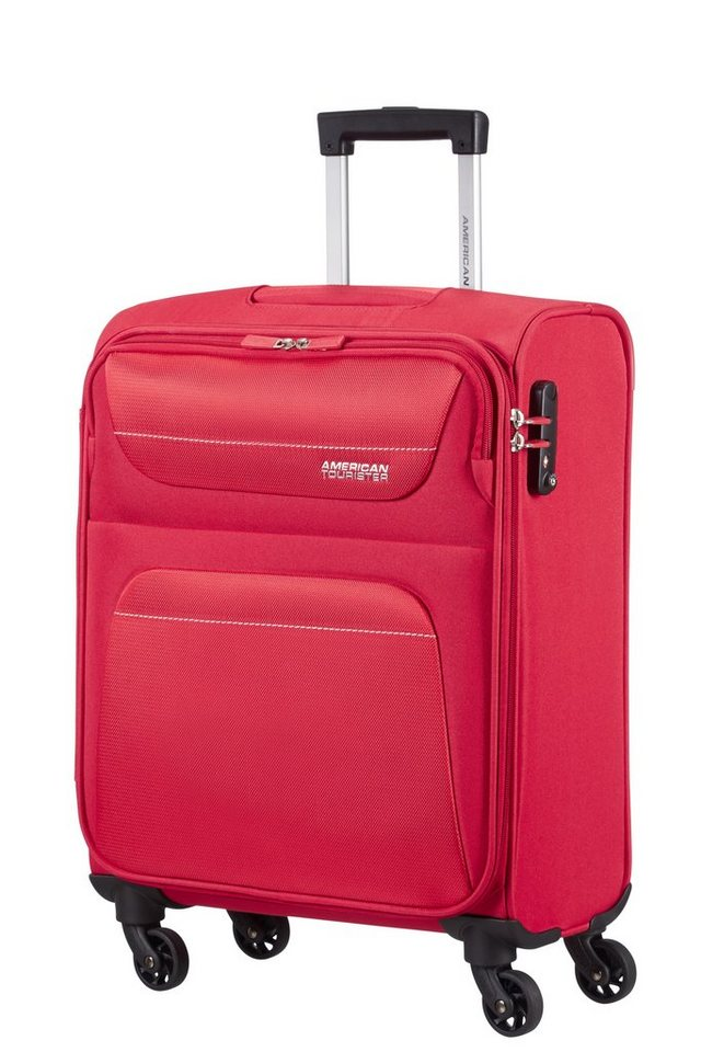 American Tourister Trolley mit 4 Rollen, »Spring Hill« in red
