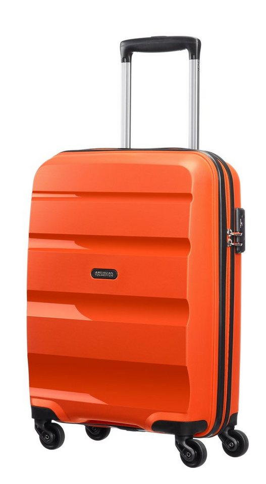 American Tourister Hartschalen-Trolley mit 4 Rollen, »Bon Air« in flame orange