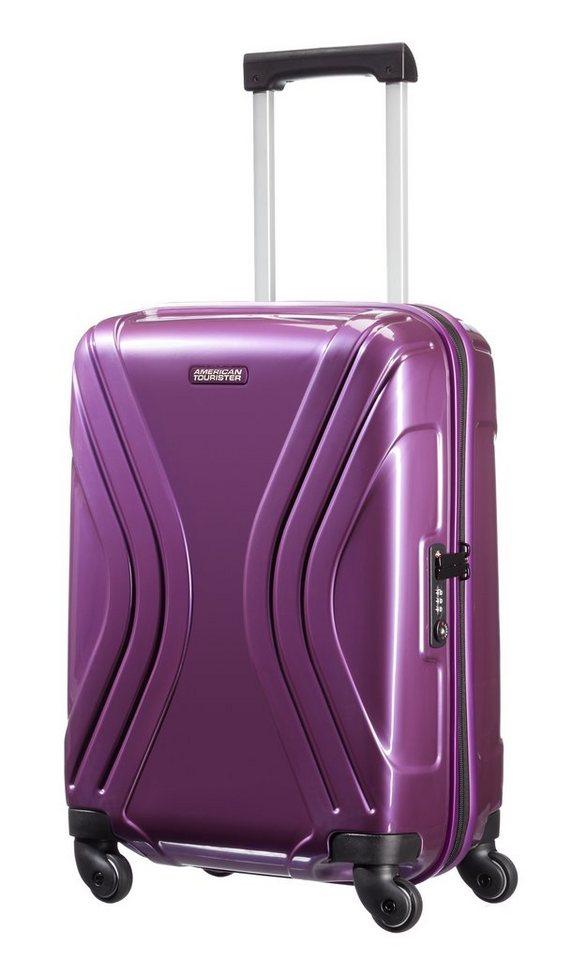 American Tourister Hartschalen-Trolley mit 4 Rollen, »Vivotec« in purple