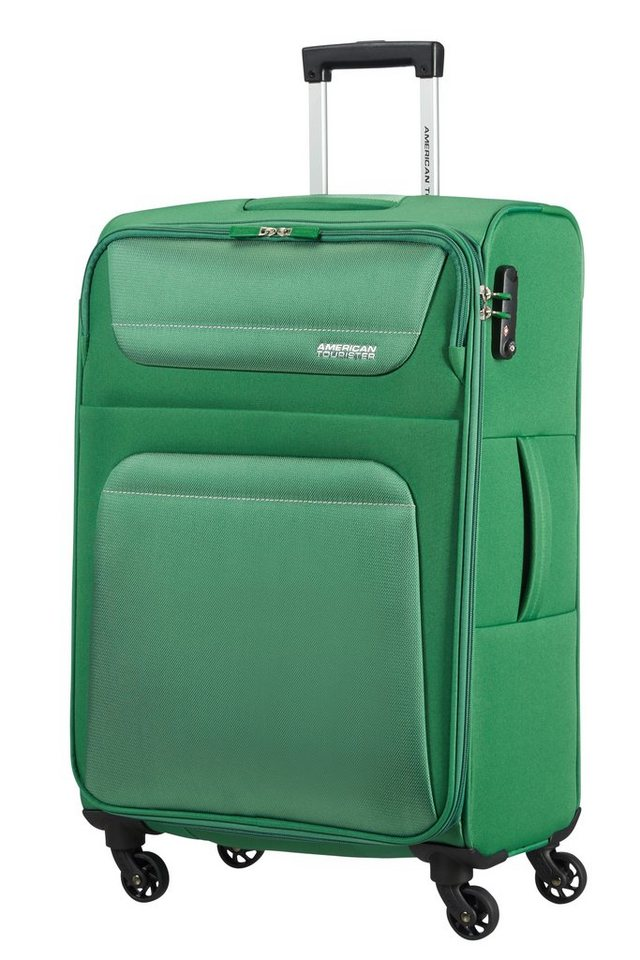 American Tourister Trolley mit 4 Rollen, »Spring Hill« in bamboo green