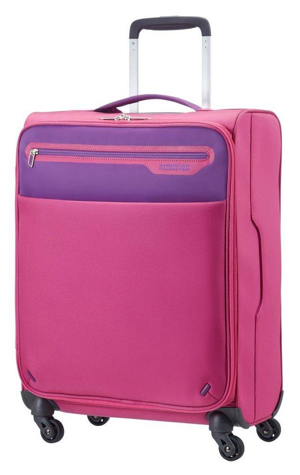 American Tourister Trolley mit 4 Rollen, »Lightway« in pink/purple