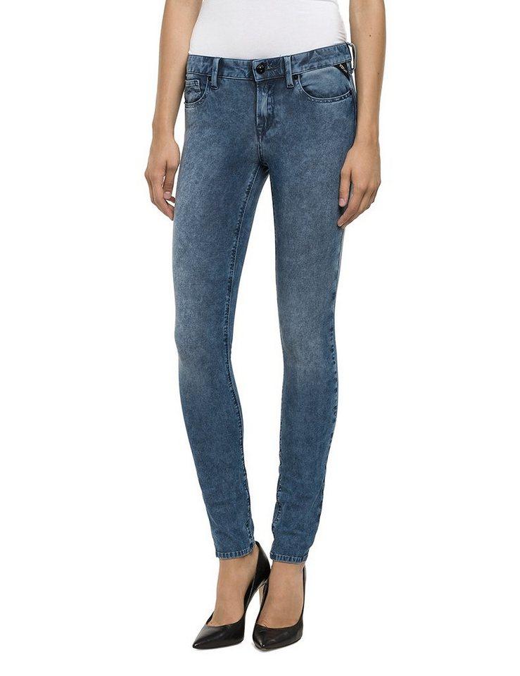Replay Jeans »LUZ Batik« in Marble Blue