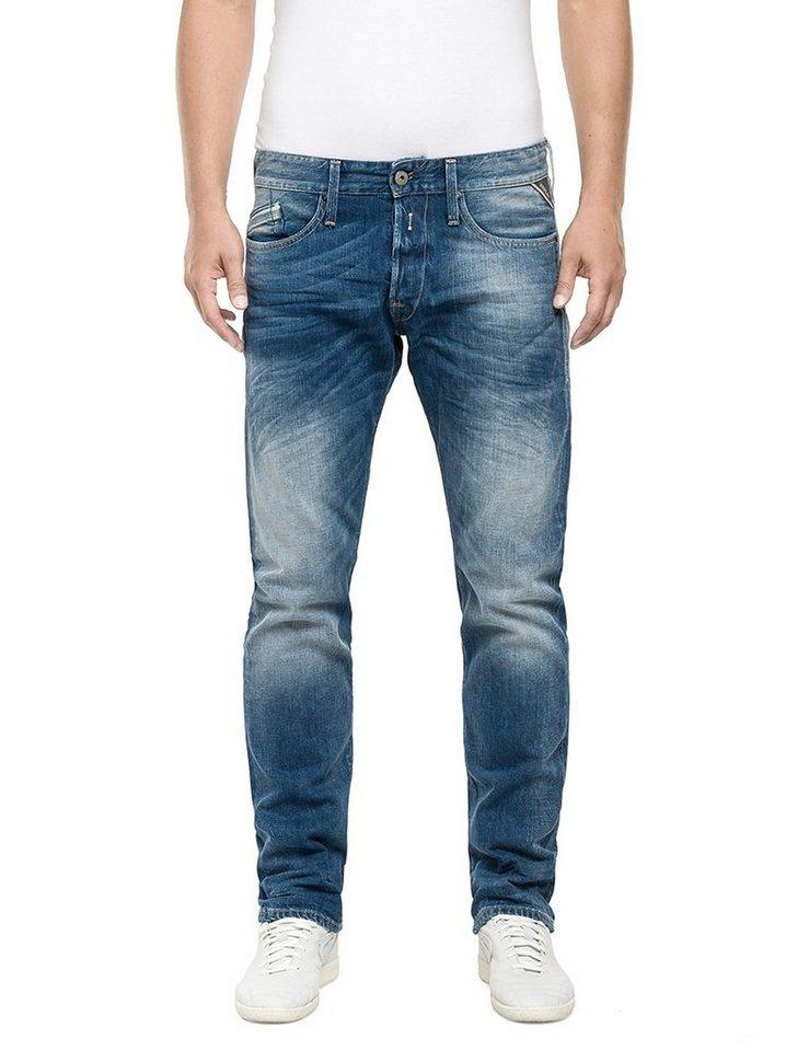 Replay Jeans »WAITOM« in Blue Denim