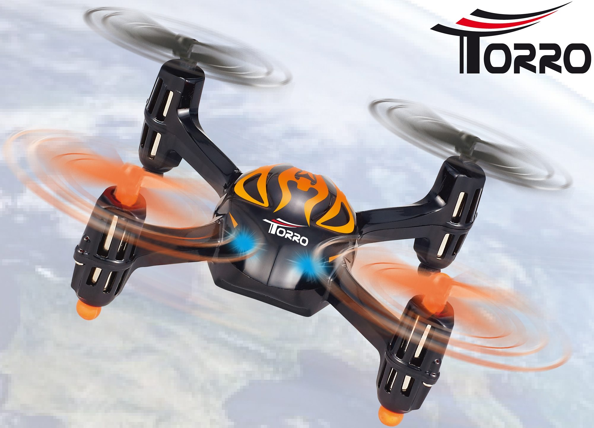 Torro RC-Komplett-Set, »U830 Mini Quadcopter«