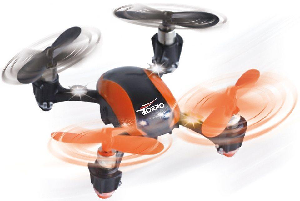 Torro RC-Komplett-Set, »U839 Mini Quadcopter« in orange/schwarz