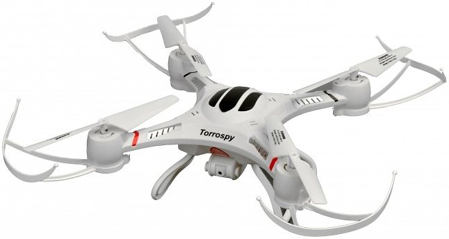 Torro RC-Komplett-Set, »Torrospy Quadcopter« in weiß