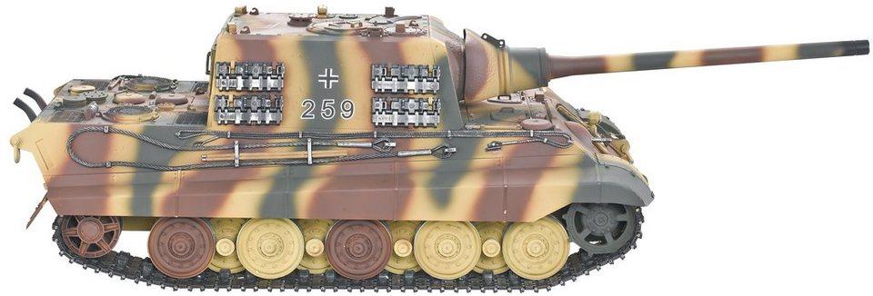 Torro RC-Komplett-Set Panzer, »Jagdtiger IR mit Schussfunktion« in sommertarn