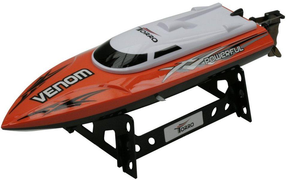 Torro RC-Komplett-Set, »Venom Speed Boot« in orange