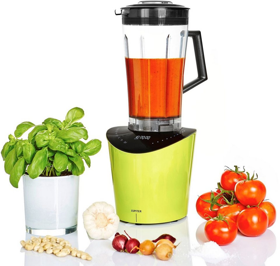 Jupiter High Speed Blender Nutrimix, 1.400 Watt, 10 Stufen, nutri-green in Grün