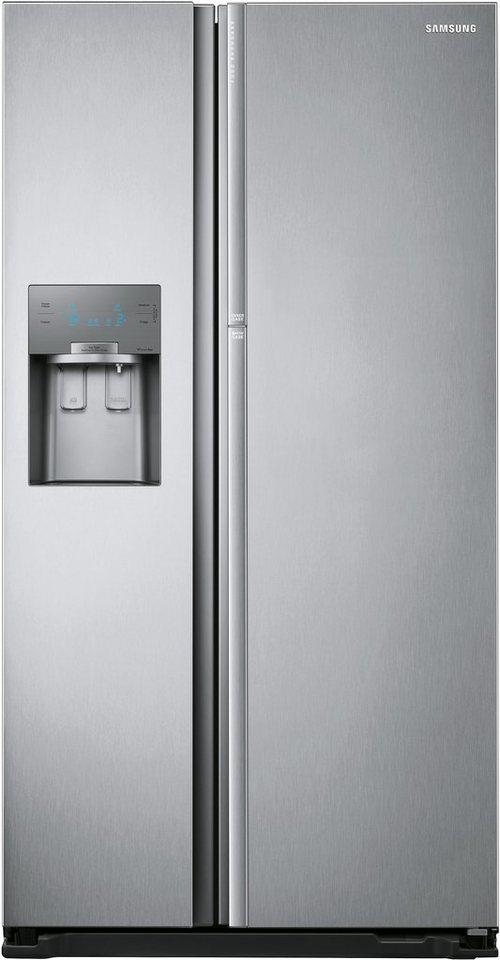 Samsung FoodShowcase Side-by-Side RH56J6918SL/EF, A++, 179 cm hoch, No Frost in Edelstahl