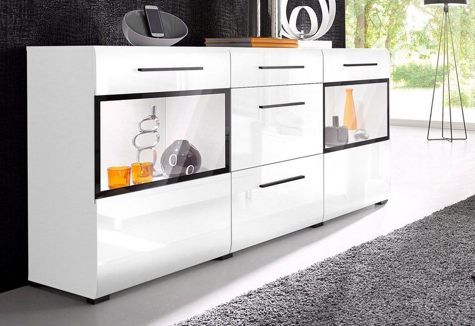 sideboard breite 180 cm online kaufen otto. Black Bedroom Furniture Sets. Home Design Ideas