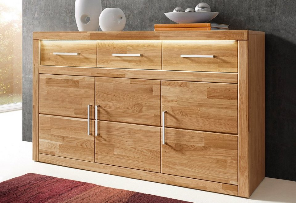 sideboard 130 breit bestseller shop f r m bel und einrichtungen. Black Bedroom Furniture Sets. Home Design Ideas