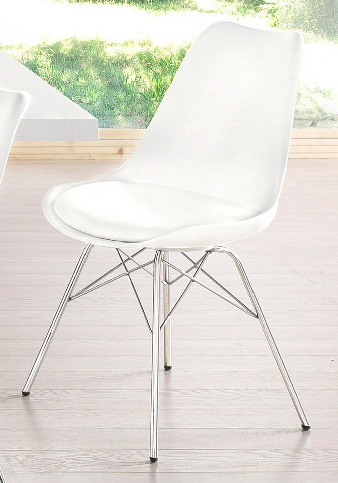 Stühle (2 Stück) in weiß