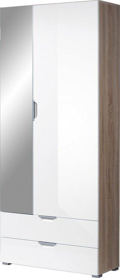 germania garderobenschrank aurich mit spiegel otto. Black Bedroom Furniture Sets. Home Design Ideas