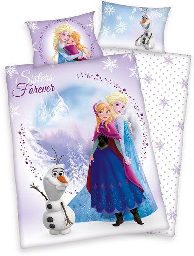 Kinderbettwäsche »Frozen Sisters«, Disney, Eiskönigin