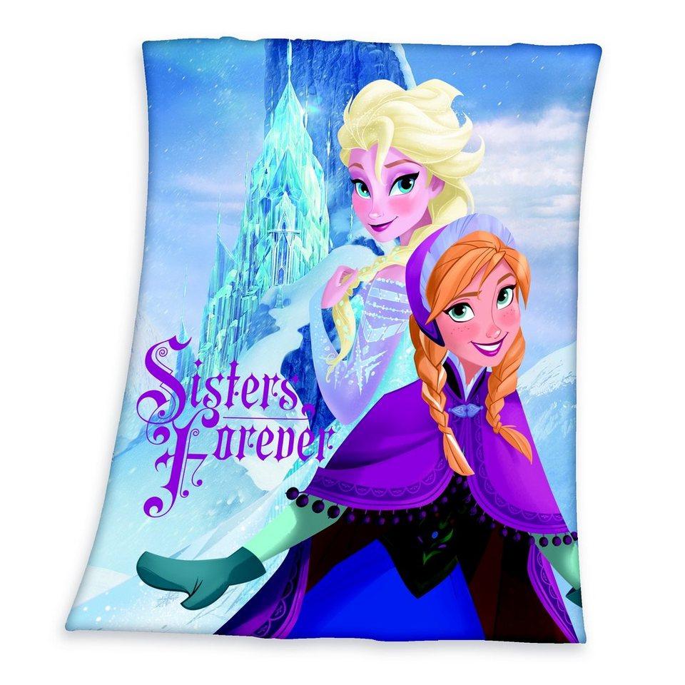 Kinderdecke, Disney, »Die Eiskönigin«, Elsa & Anna in blau