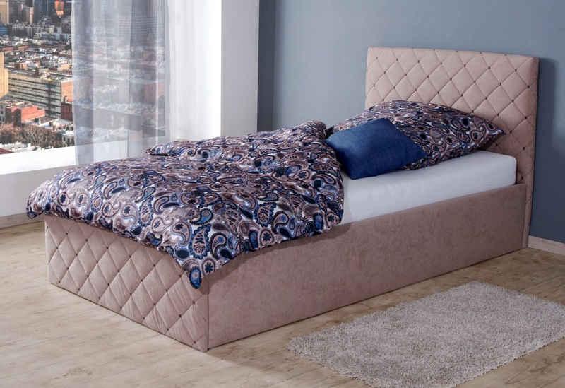 Westfalia Schlafkomfort Polsterbett, inkl. Bettkasten bei Ausführung mit Matratze