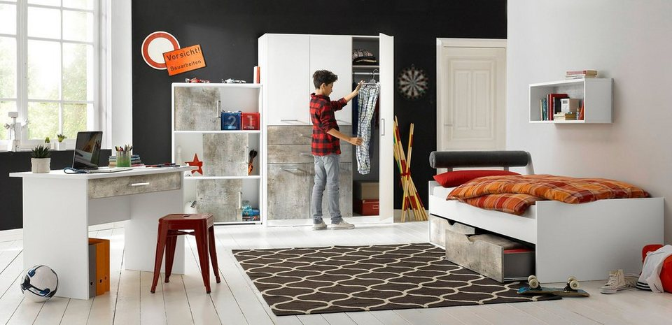 rauch pack s jugendzimmer set 4 tlg kaufen otto. Black Bedroom Furniture Sets. Home Design Ideas
