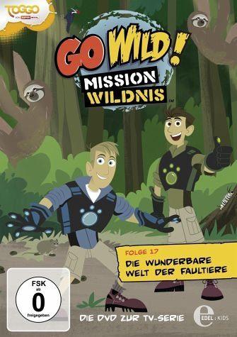 DVD »Go Wild! Mission Wildnis - Folge 17: Die...«