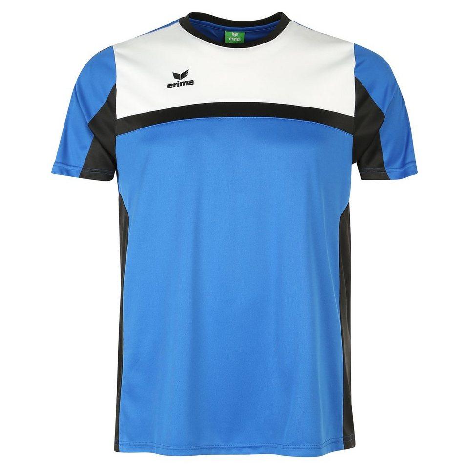 ERIMA 5-CUBES T-Shirt Kinder in blau/schwarz/weiß