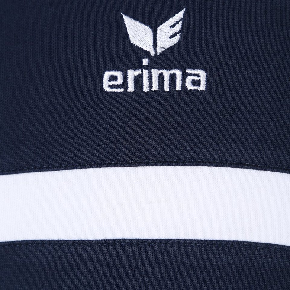 ERIMA 5-CUBES Sweatshirt Damen in new navy/rot