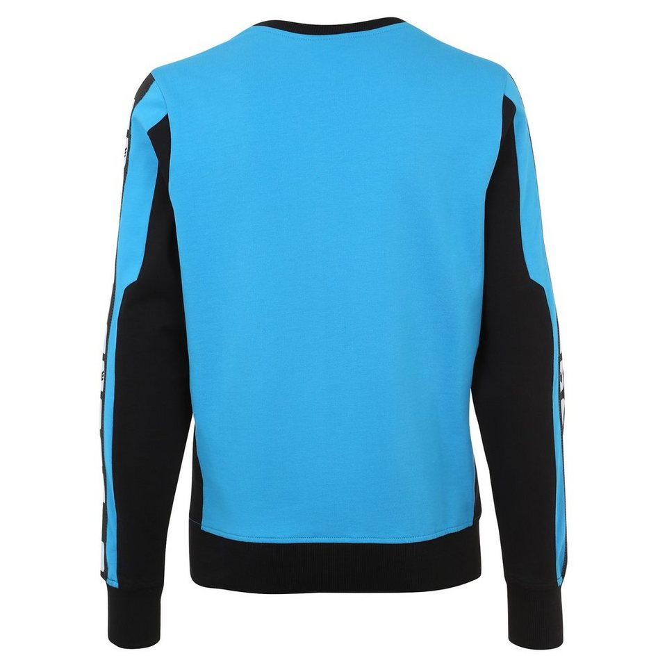 ERIMA 5-CUBES Sweatshirt Damen in curacao/schwarz/weiß