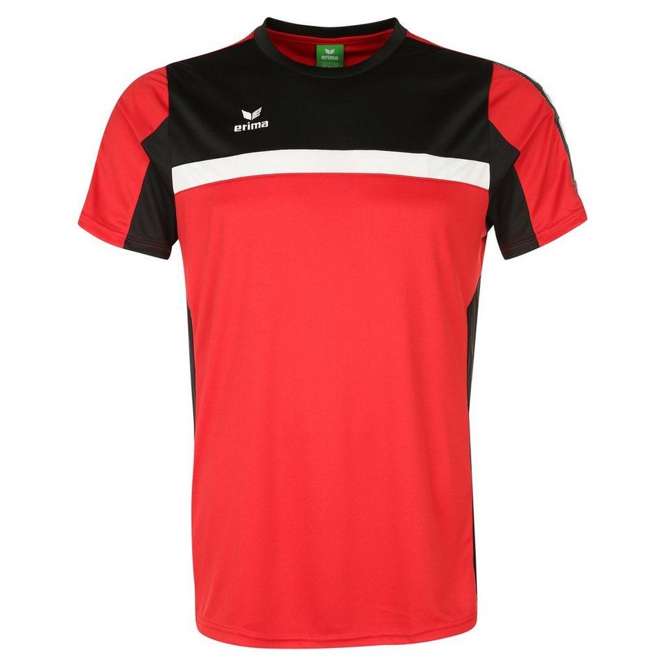 ERIMA 5-CUBES T-Shirt Kinder in rot/schwarz/weiß