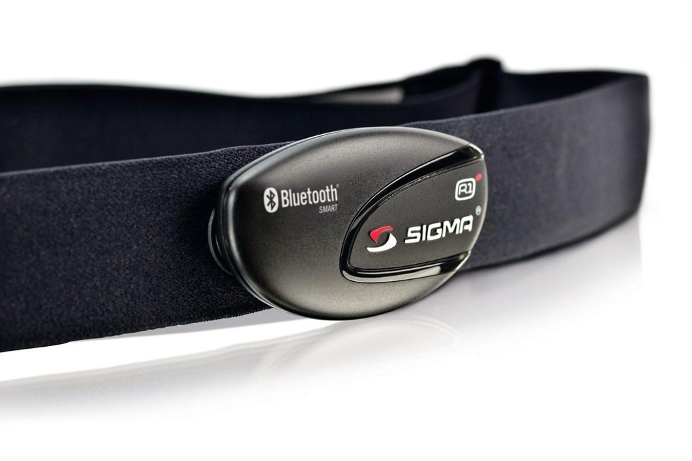 Sigma Sport Brustgurt »SIGMA SPORT Brustgurt R1 blue Comfortex+ Brustgurt«
