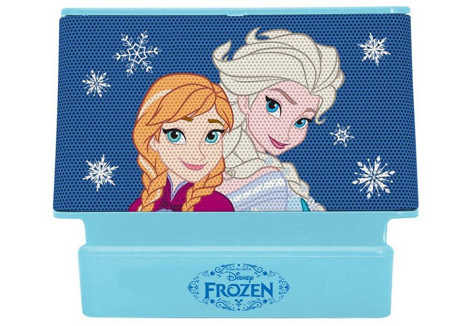 Lexibook Lautsprecher, »2x2 Watt Lautsprecher Disney Frozen« in blau