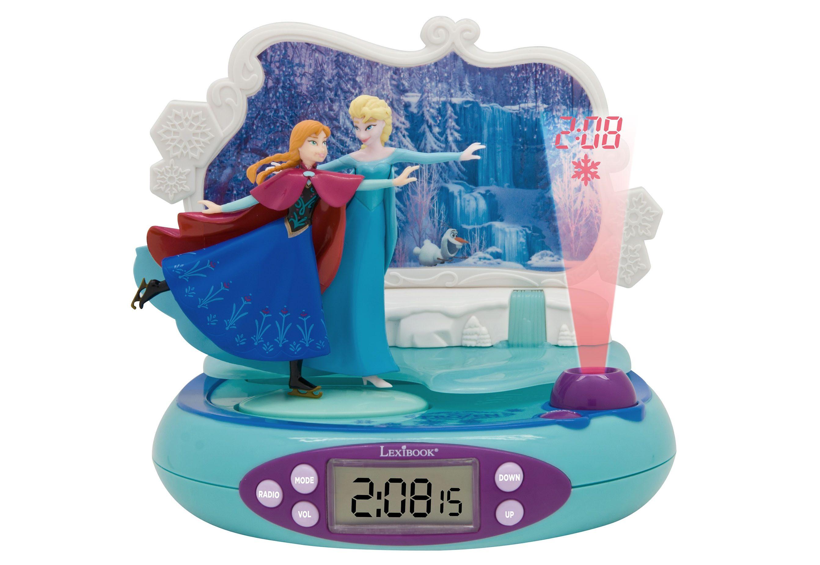 Lexibook, Projektionswecker, »Disney Frozen - Die Eiskönigin«